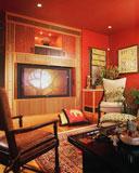 гостиная по фен шуй - дизайн в стихии Огня