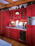кухня по фэн шуй - дизайн в стихии Огня