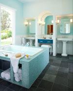 ванная по фен шуй - дизайн в стихии воды