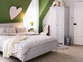 спальня по фэн шуй - дизайн в стихий Металла и Дерева