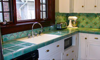 кухня по фен шуй - дизайн в стихий Металла и Дерева