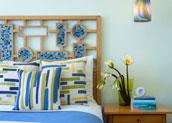спальня по фэн шуй - дизайн в стихий Воды и Дерева